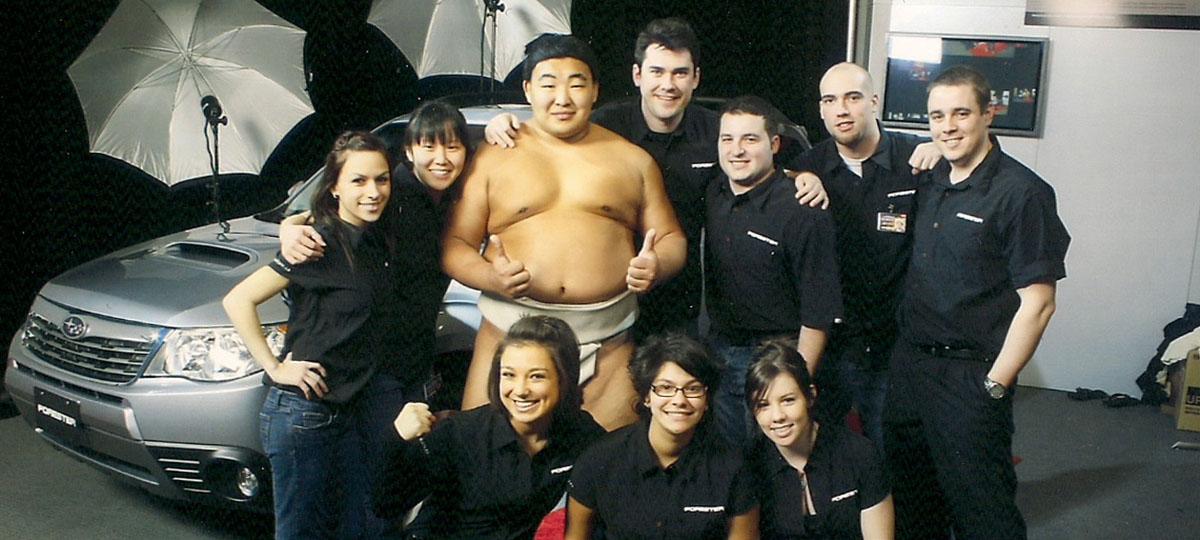 Sumo Trade show