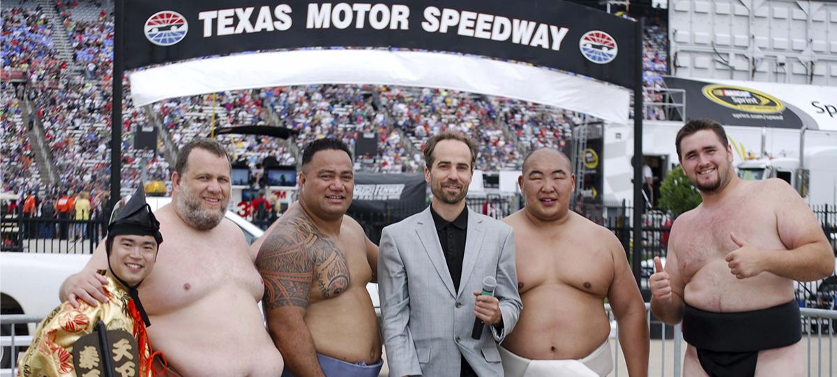 Texas motor Speedway sumo demo