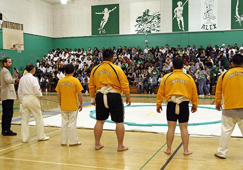 Sumo demo @ Hamilton High School
