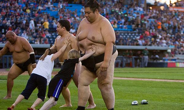 stadium sumo event
