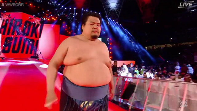 WWE competitor