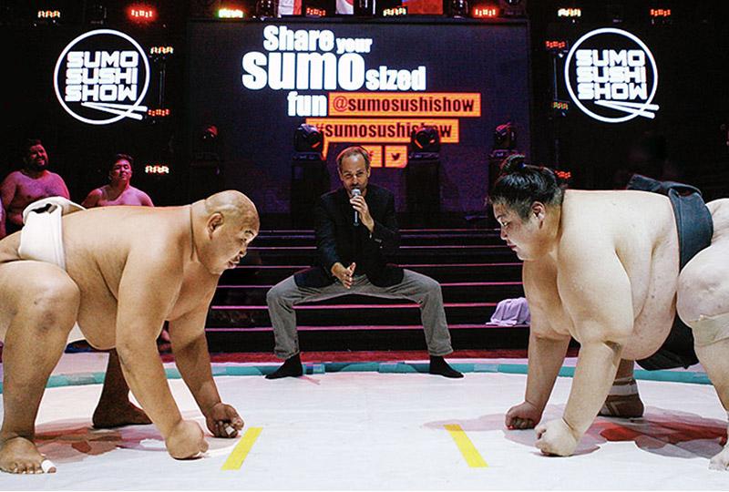 corporate sumo event